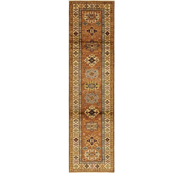 80cm x 307cm Kazak Oriental Runner Rug
