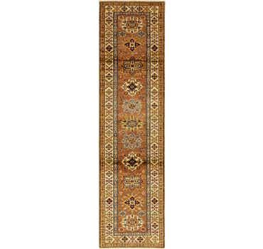 Image of 2' 8 x 10' 1 Kazak Oriental Runner Rug