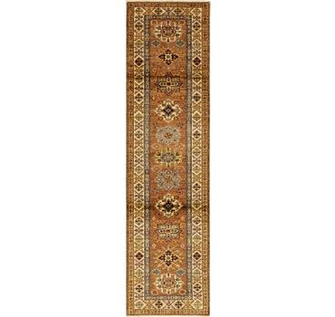 2' 8 x 10' 1 Kazak Oriental Runner Rug main image