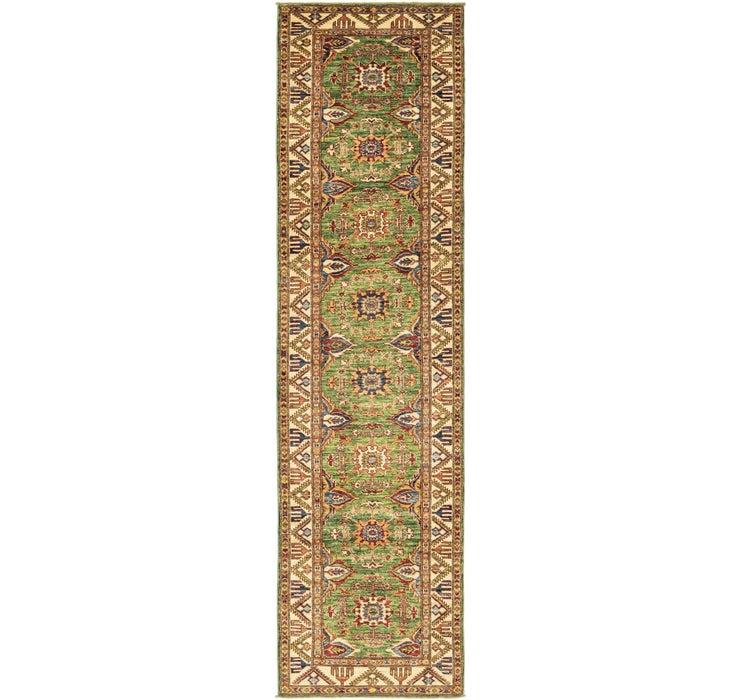 2' 8 x 10' 1 Kazak Oriental Runner Rug