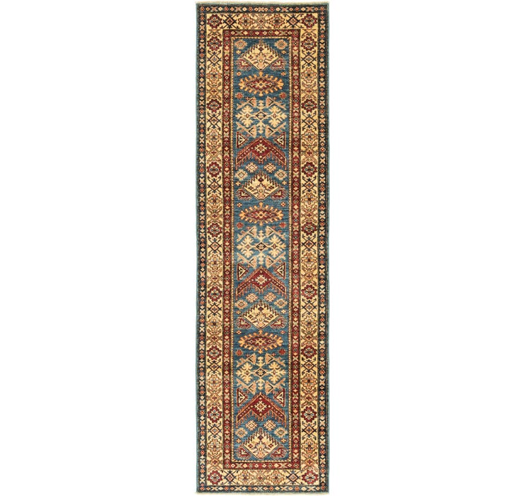 80cm x 292cm Kazak Oriental Runner Rug