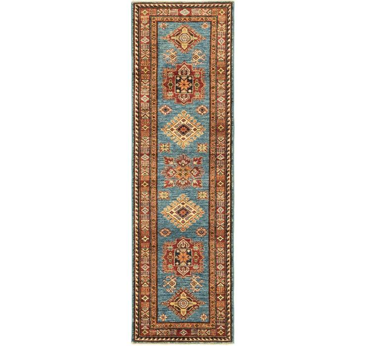 2' x 6' 8 Kazak Oriental Runner Rug