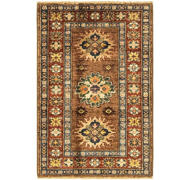 60cm x 95cm Kazak Oriental Rug