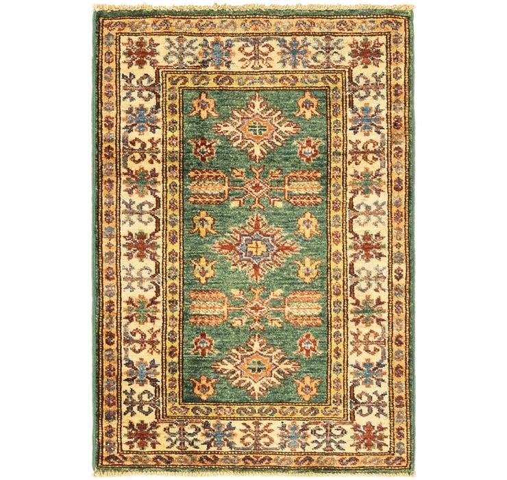 2' x 2' 11 Kazak Oriental Rug