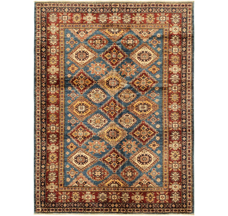 5' 1 x 6' 9 Kazak Oriental Rug