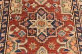 2' 9 x 11' 8 Kazak Oriental Round Rug thumbnail