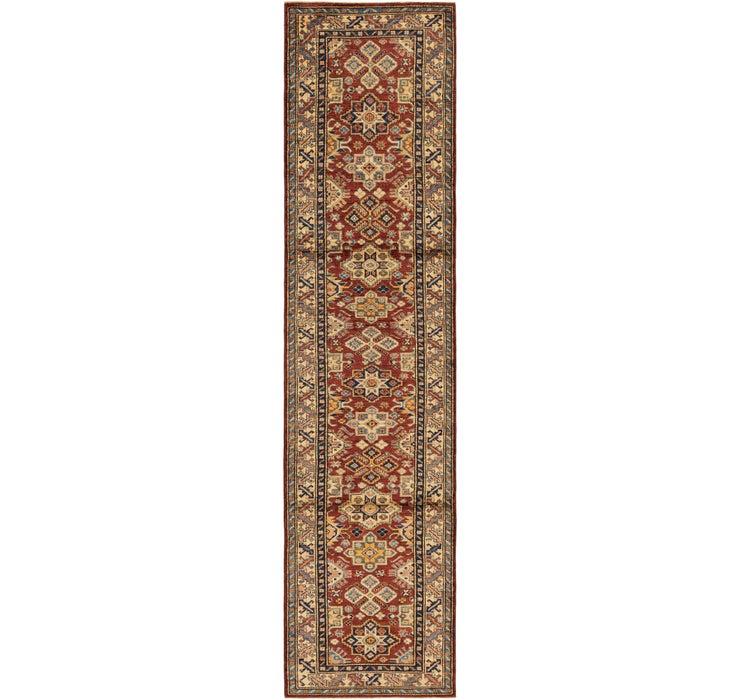2' 9 x 11' 8 Kazak Oriental Round Rug