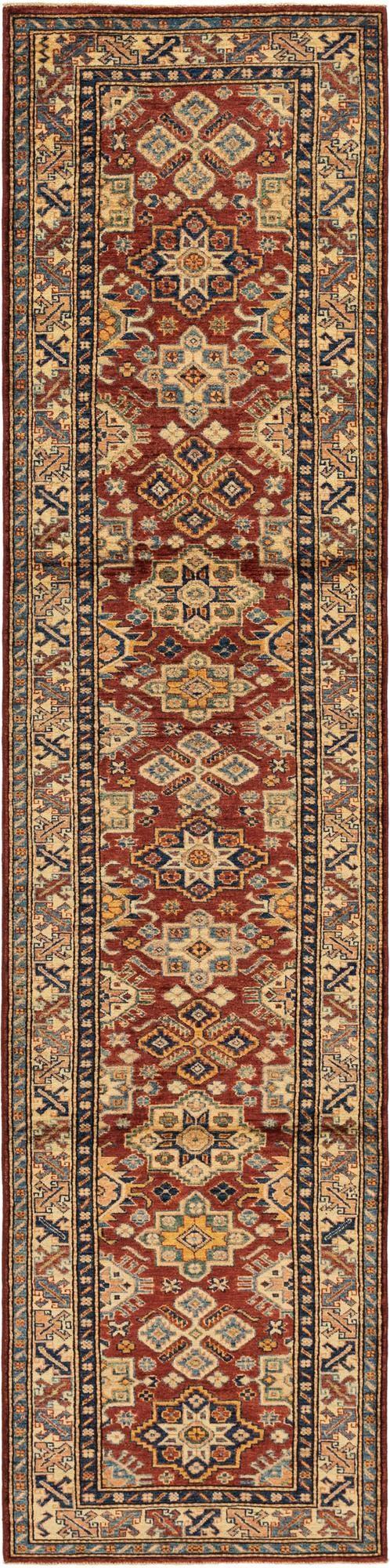 2' 9 x 11' 8 Kazak Oriental Round Rug main image