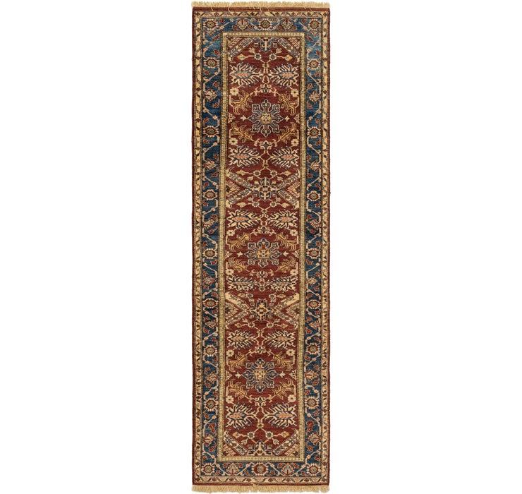 80cm x 295cm Kazak Oriental Runner Rug