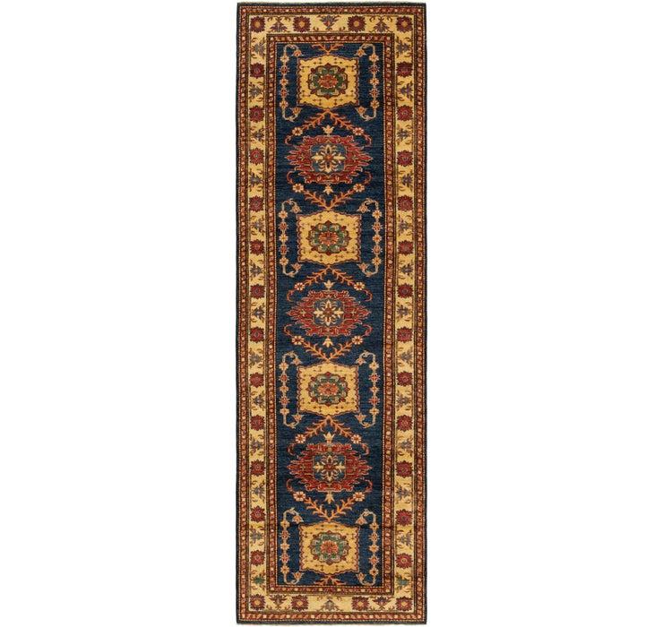 2' 8 x 9' 4 Kazak Oriental Round Rug