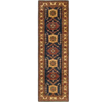 2' 8 x 9' 4 Kazak Oriental Round Rug main image