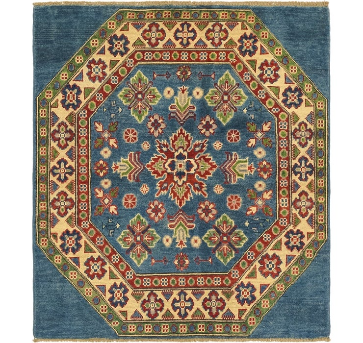 3' 2 x 3' 9 Kazak Square Rug