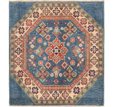 Image of 3' 3 x 3' 7 Kazak Oriental Square Rug