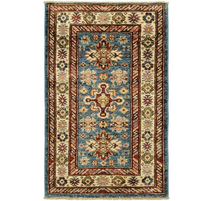 1' 10 x 3' Kazak Oriental Rug