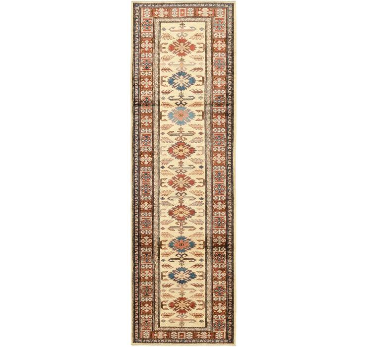 2' 9 x 9' 6 Kazak Oriental Round Rug