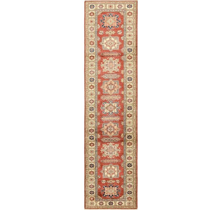 2' 5 x 10' 5 Kazak Oriental Round Rug