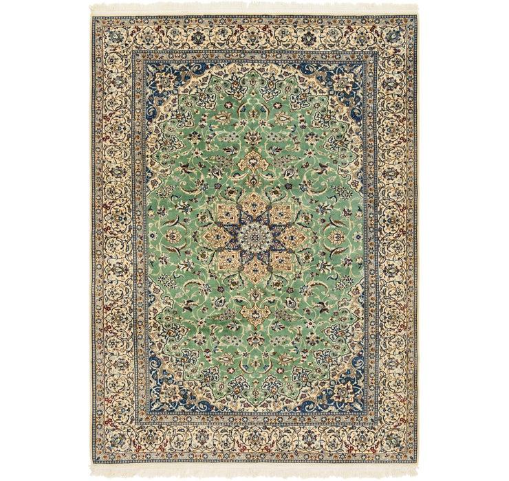 8' 1 x 12' Nain Persian Rug