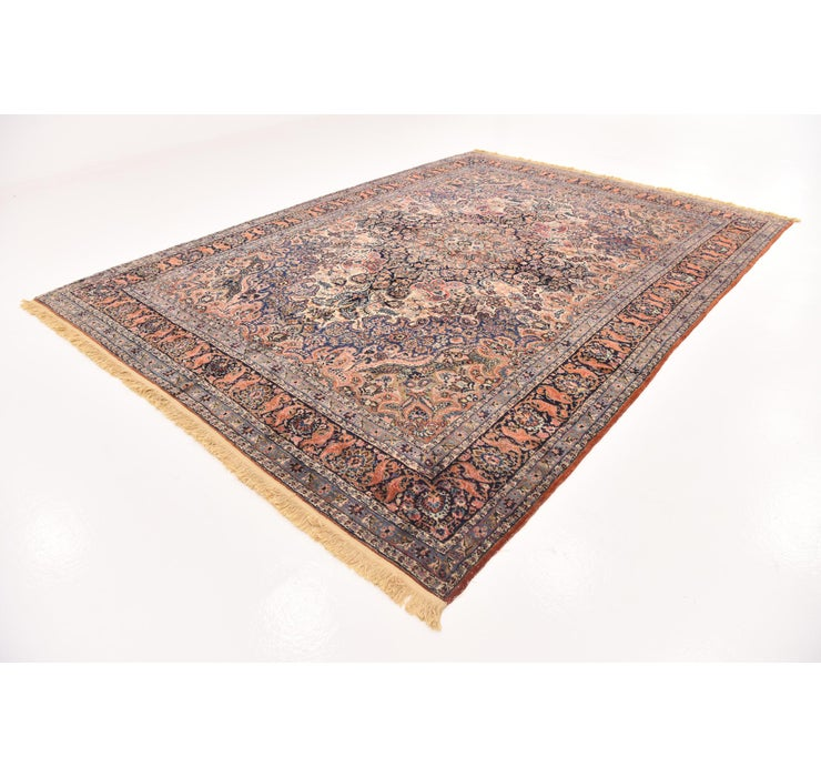 9' x 12' 5 Sarough Persian Rug