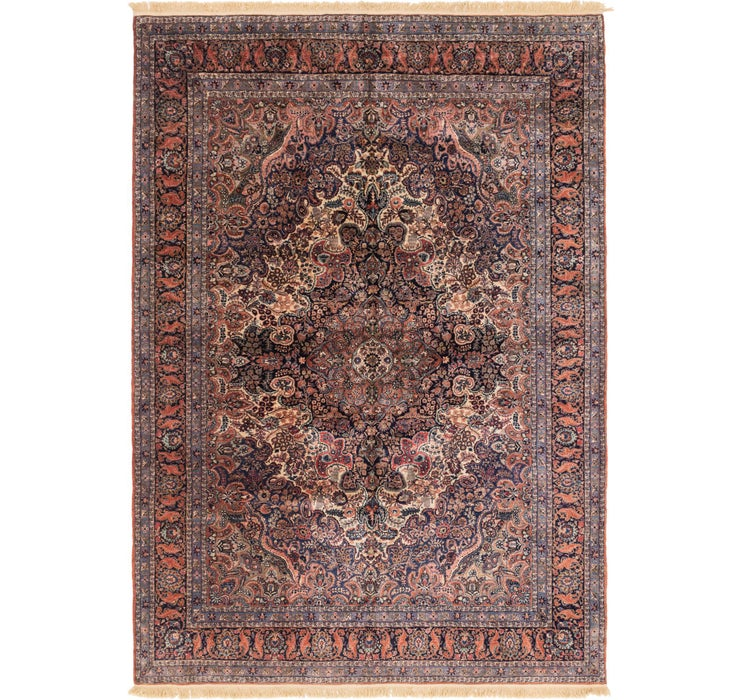 275cm x 378cm Sarough Persian Rug