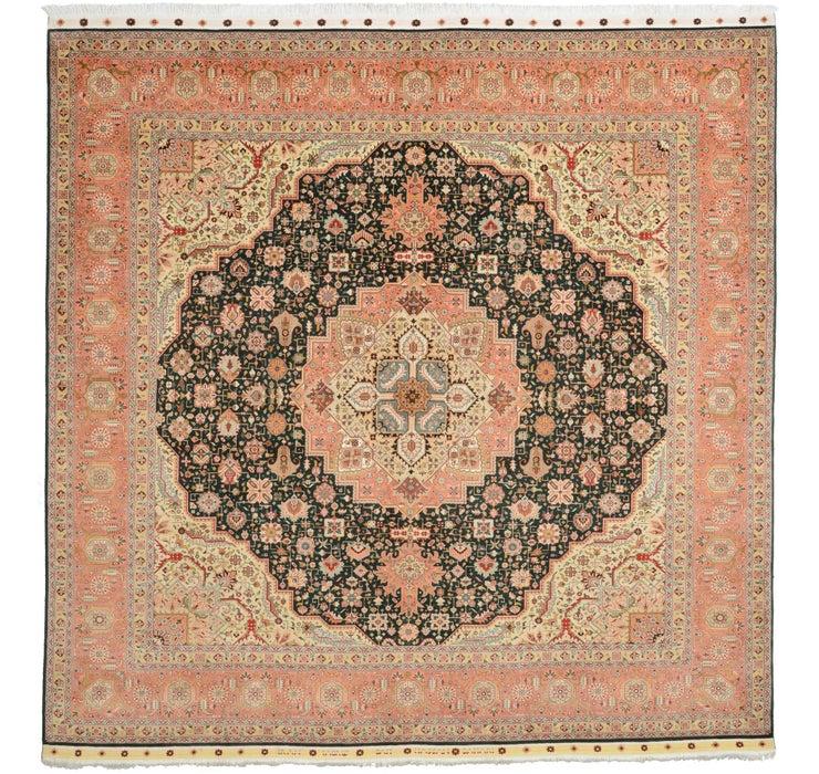 292cm x 300cm Tabriz Persian Square Rug