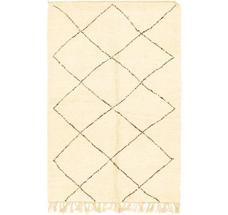 5' 2 x 8' 1 Moroccan Rug