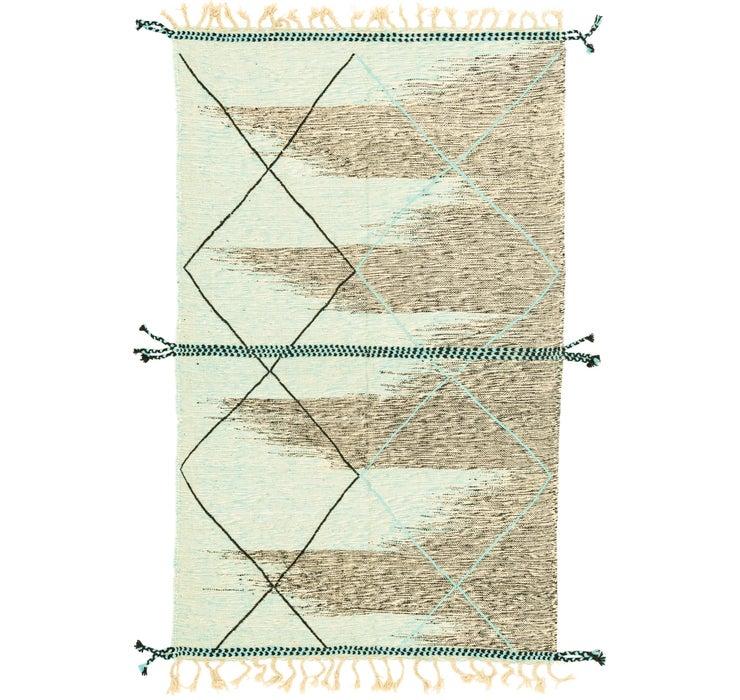 4' 11 x 8' 5 Moroccan Rug