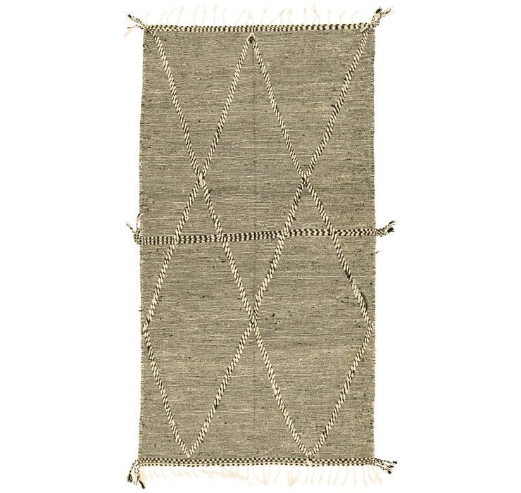 4' 9 x 8' 8 Moroccan Rug