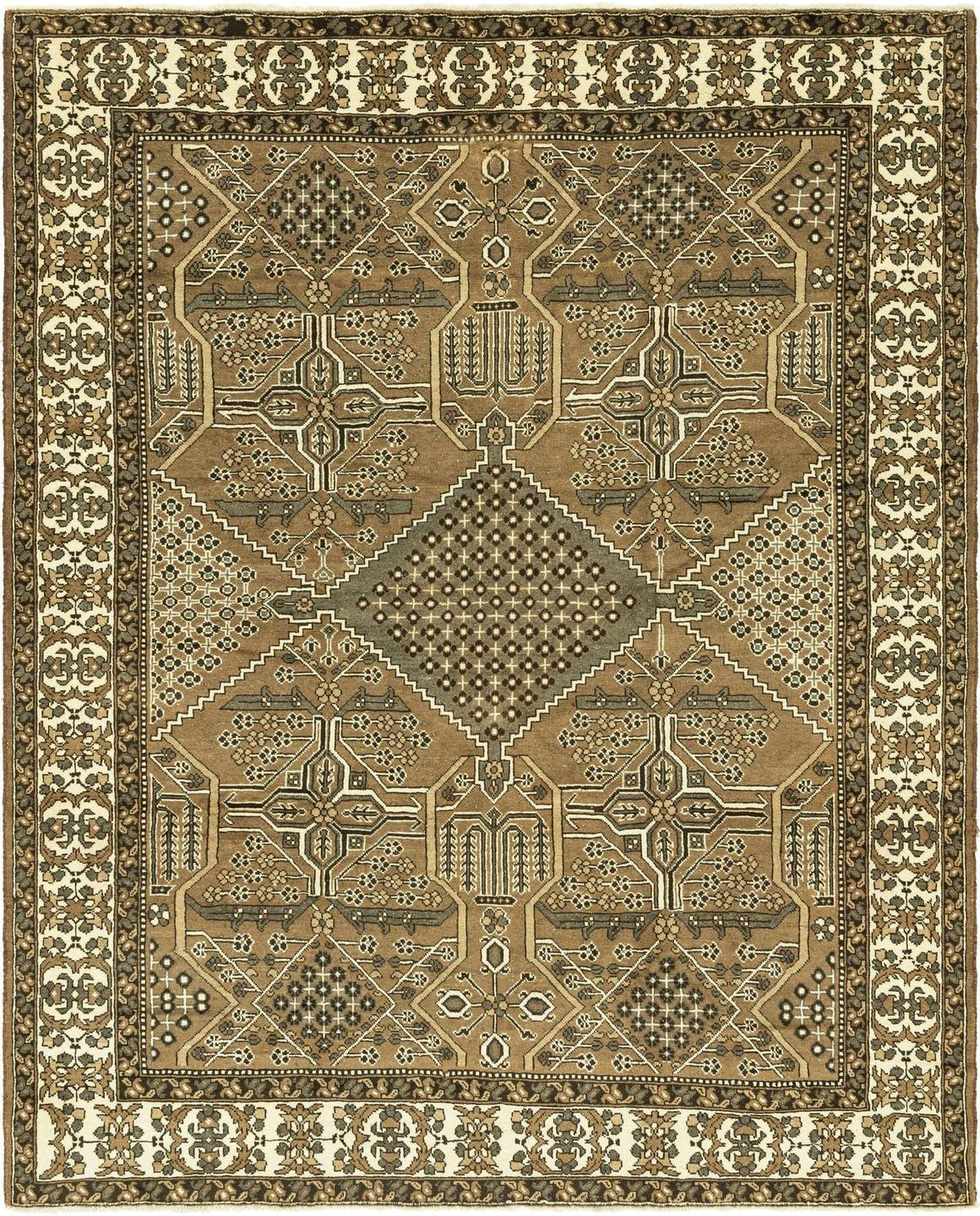 9' 10 x 12' 6 Ferdos Persian Rug main image