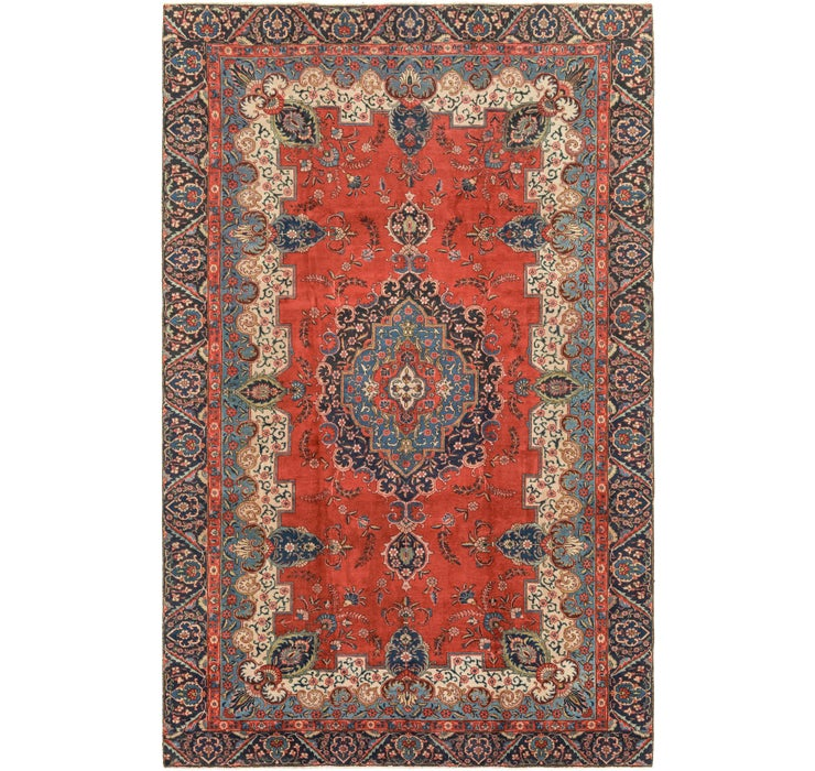 9' 4 x 14' 9 Tabriz Persian Rug