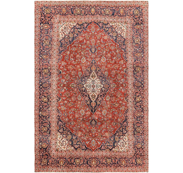 285cm x 430cm Mashad Persian Rug