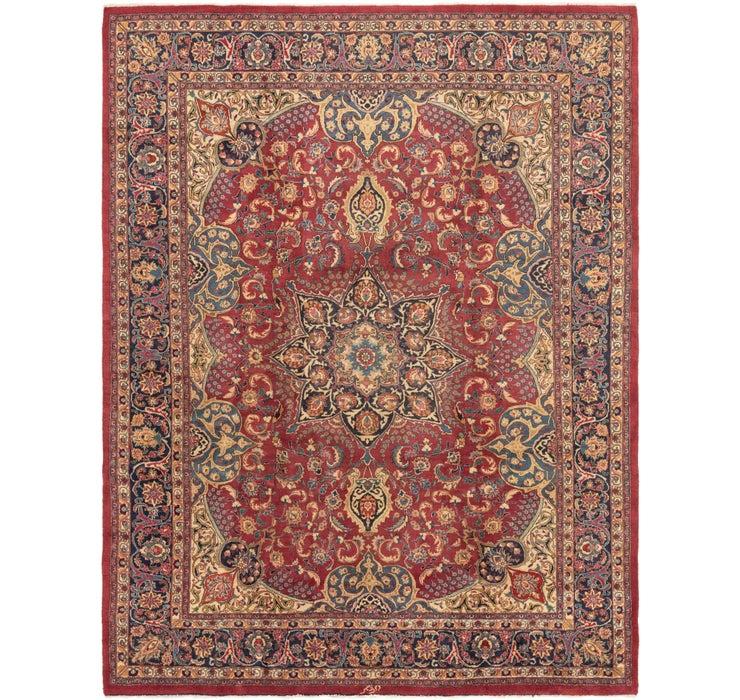 9' 8 x 12' 10 Mashad Persian Rug