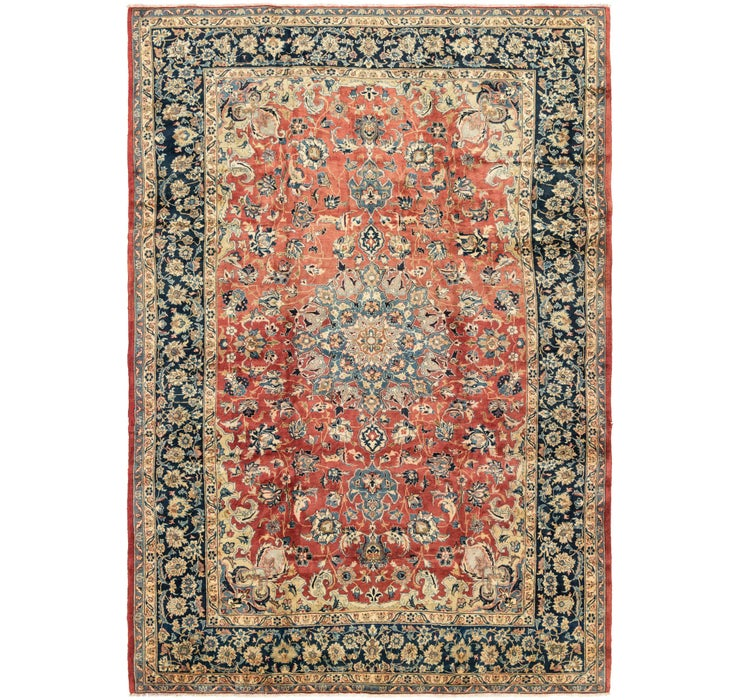 9' 4 x 13' 6 Isfahan Persian Rug