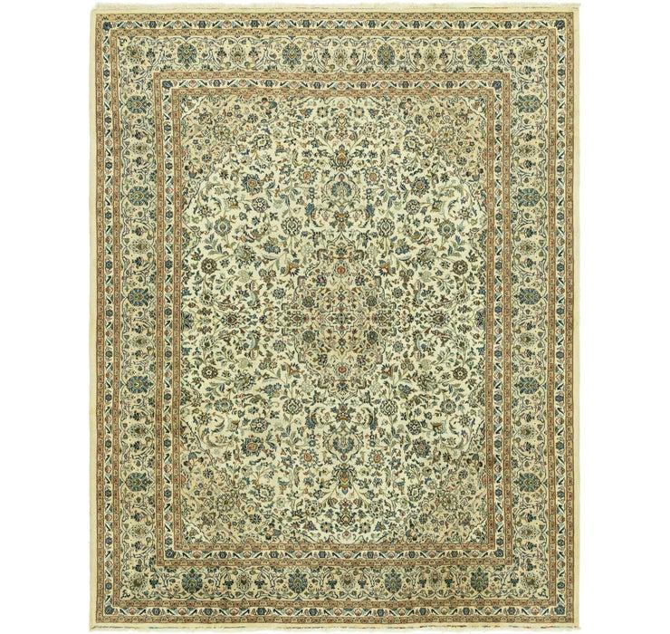 305cm x 385cm Kashan Persian Rug