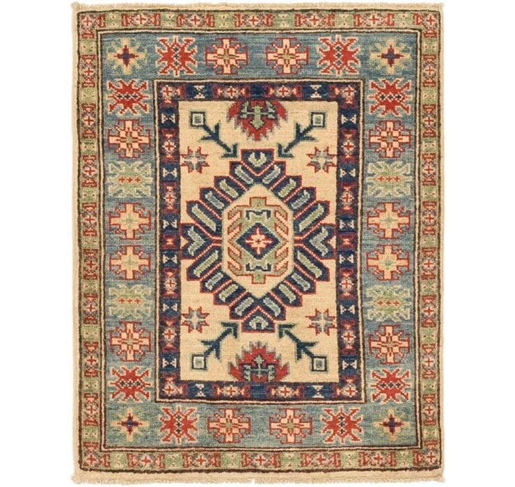 2' 2 x 2' 11 Kazak Oriental Rug