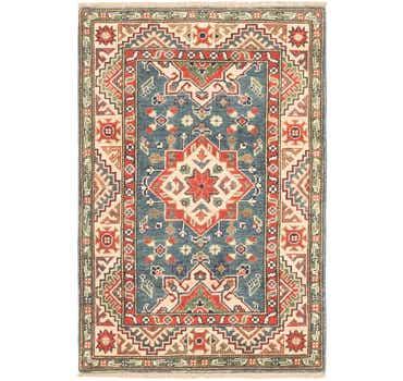 Image of 2' 7 x 4' Kazak Rug