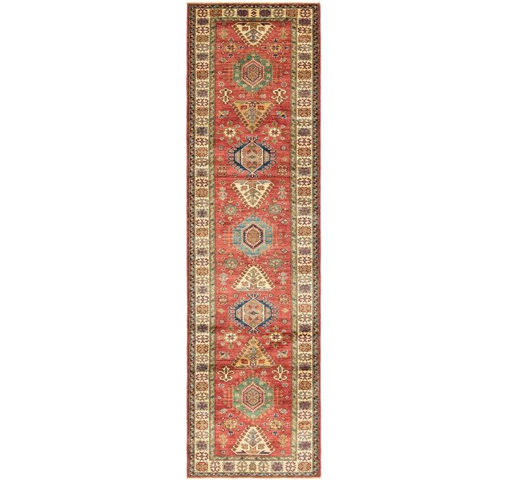 90cm x 323cm Kazak Oriental Runner Rug