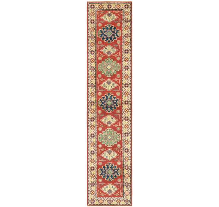 2' 8 x 13' Kazak Runner Rug
