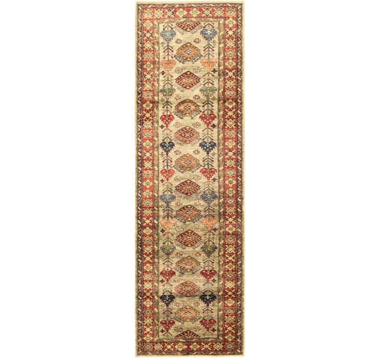 2' 9 x 9' 6 Kazak Oriental Runner Rug