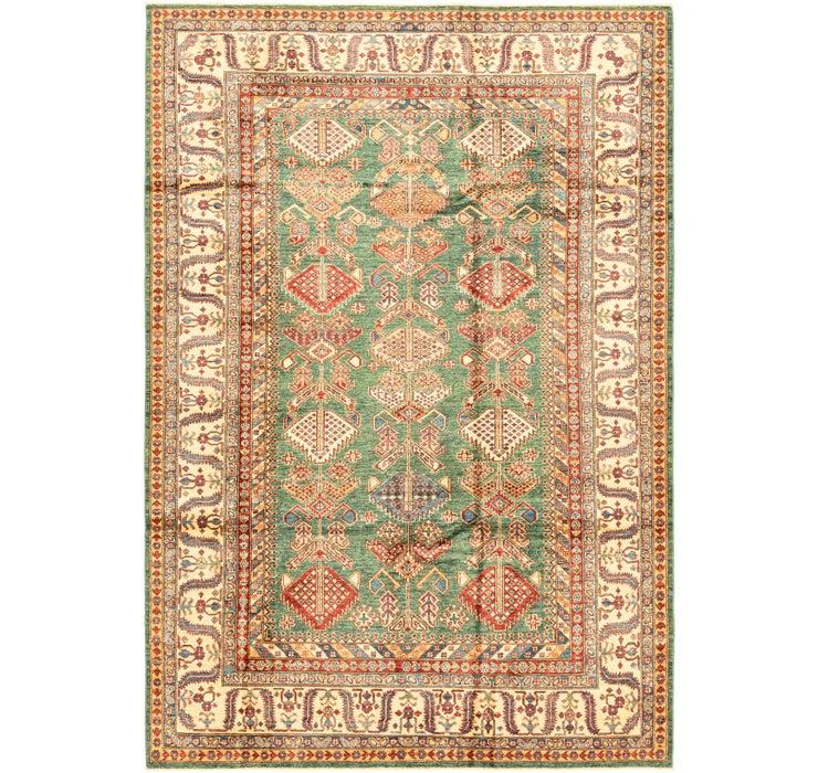 6' 9 x 9' 10 Kazak Oriental Rug