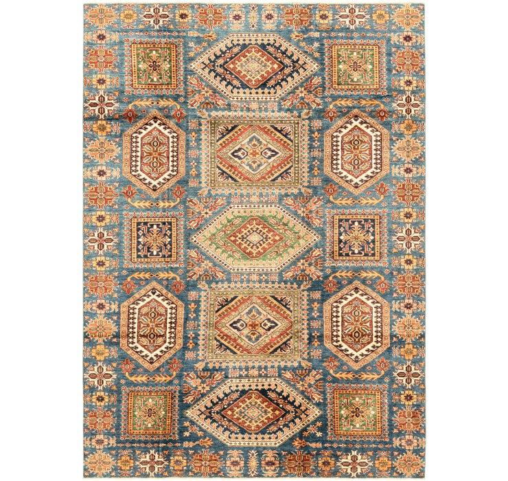6' 10 x 9' 8 Kazak Oriental Rug