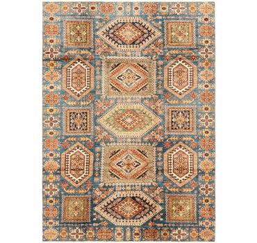 6' 10 x 9' 8 Kazak Oriental Rug main image