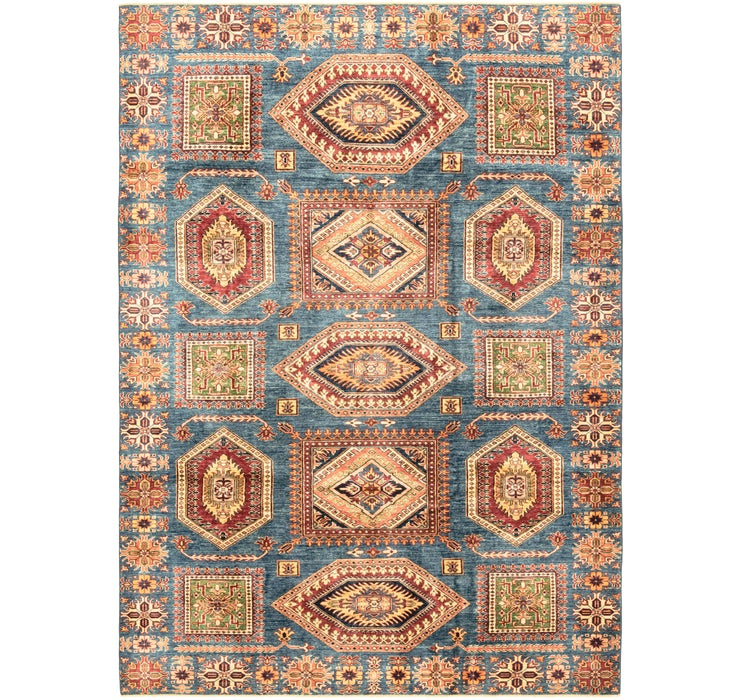 7' 2 x 10' Kazak Oriental Rug