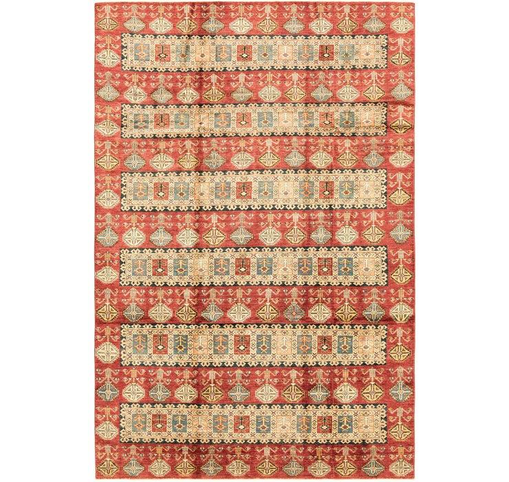 7' x 10' 8 Kazak Oriental Rug