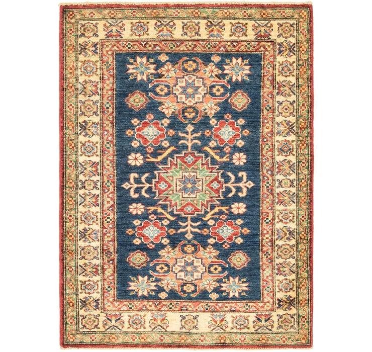 85cm x 117cm Kazak Oriental Rug