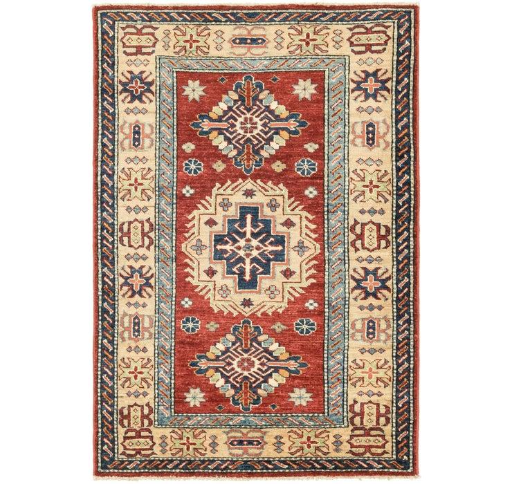 90cm x 137cm Kazak Oriental Rug