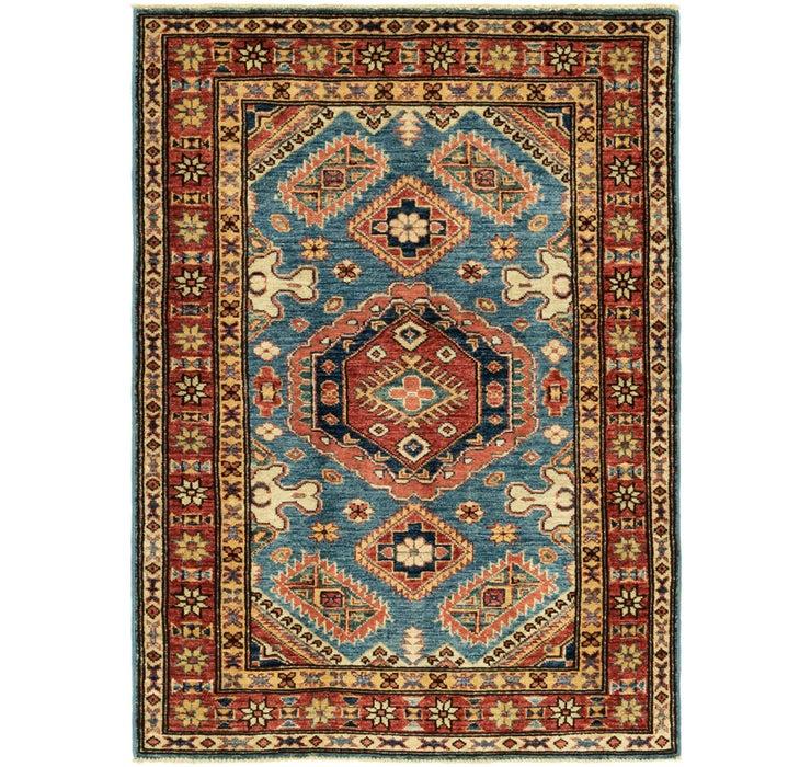 3' x 4' 3 Kazak Oriental Rug