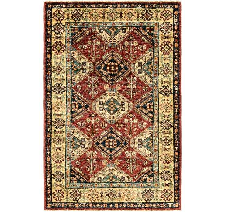 85cm x 135cm Kazak Oriental Rug