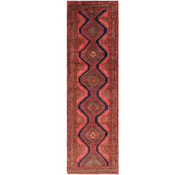 4' x 13' 7 Meshkin Persian Runner Rug main image