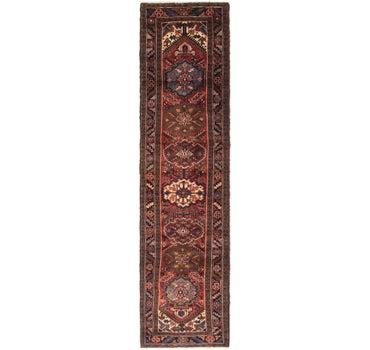 2' 9 x 11' 4 Ardabil Persian Runner Rug main image