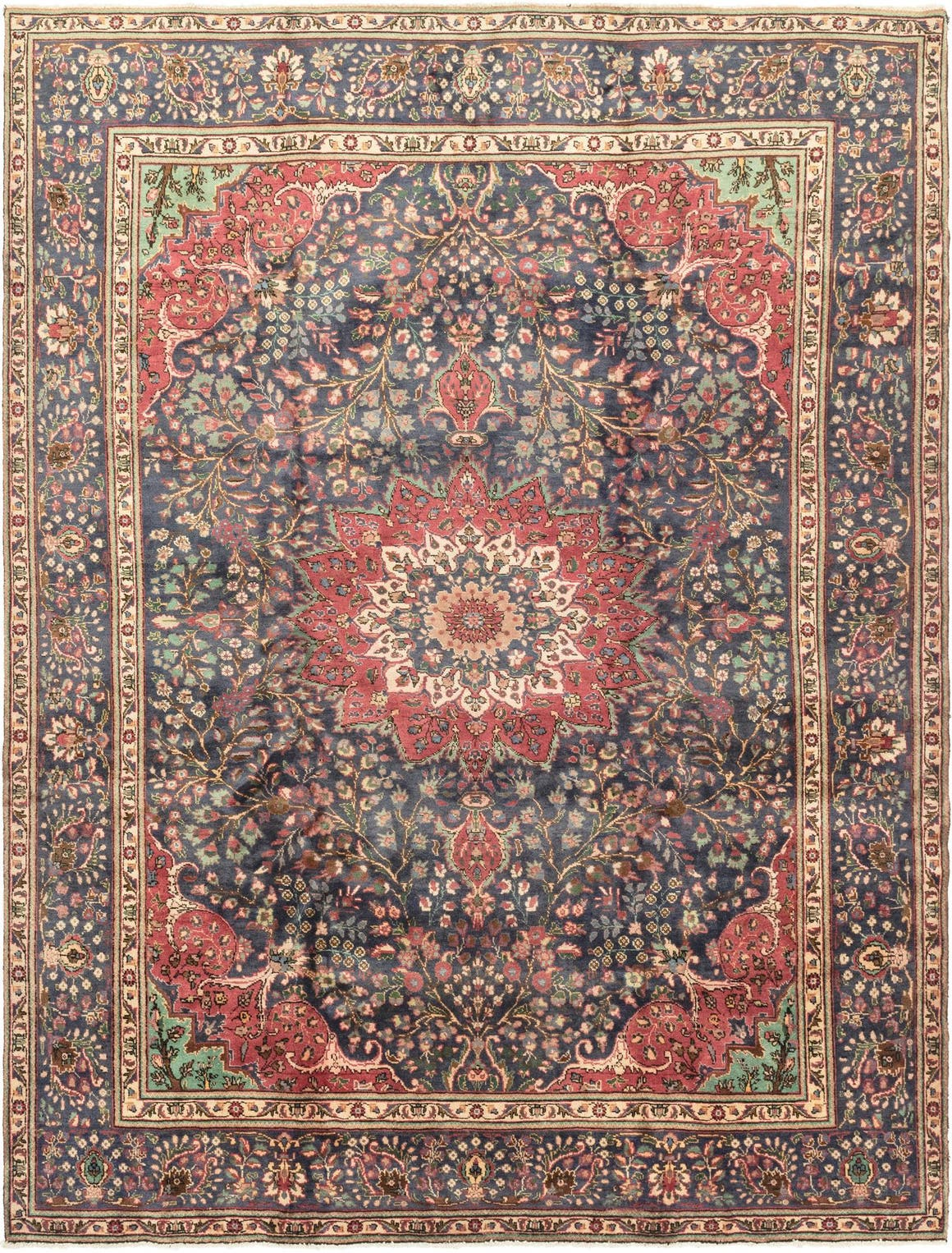 10' x 13' 5 Tabriz Persian Rug main image